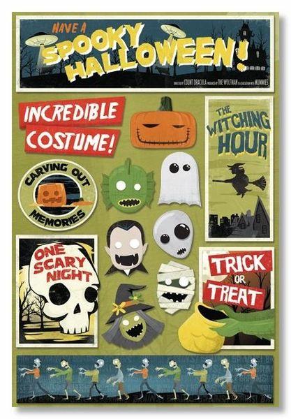 Spooky Halloween Sticker