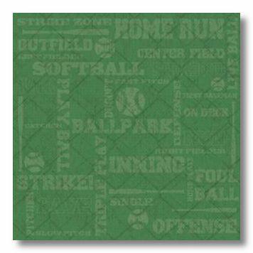 Softball Collage 12X12 Paper