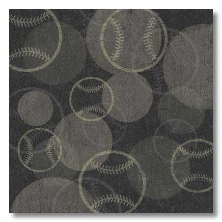 Softballs 12x12 Paper