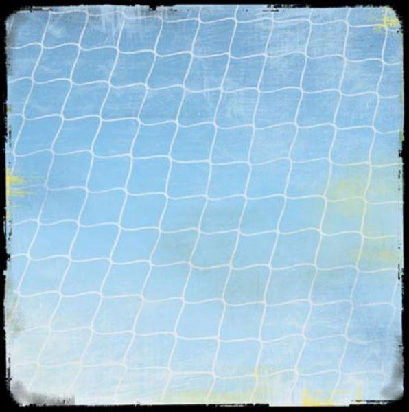 Soccer Net 12x12 Paper
