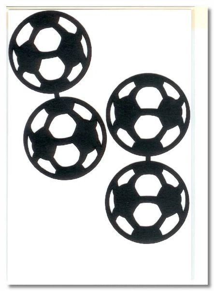 Soccer Balls Die-cut