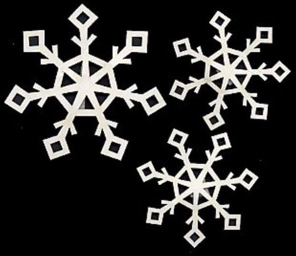 Snowflake #2 Pack Die-Cut