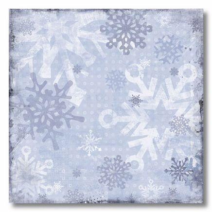 Snowflakes 12x12 Paper