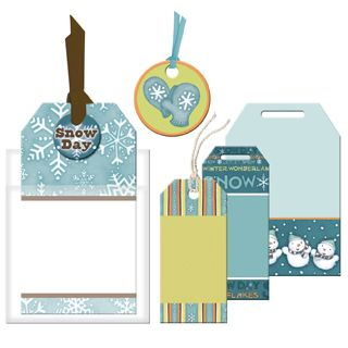 Snow Day Tag Pack