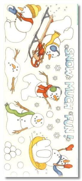 Snow Fun Sticker
