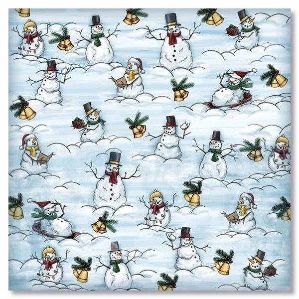 Snow Much Fun 12x12 Paper