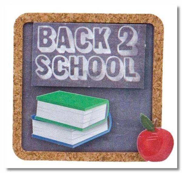 School Lil' Stack Sticker