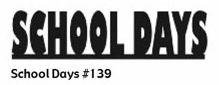 School Days Die-Cut