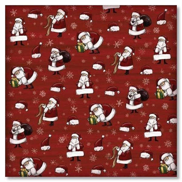 Santa's Business 12x12 Paper