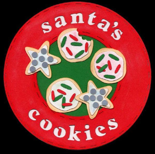 Santa's Cookies Die-Cut