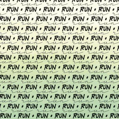 Running Word 12x12 Paper