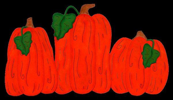Rustic Pumpkins Die-Cut