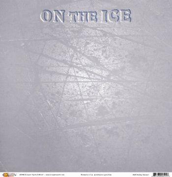 Hockey Deluxe I 12x12 Paper