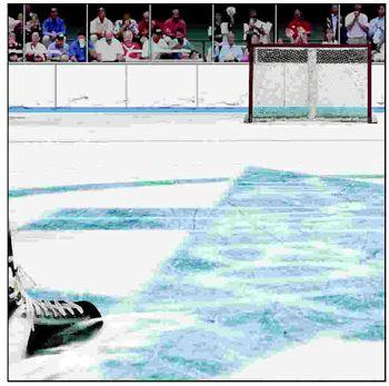 Hockey Shaved Ice 12x12 Paper