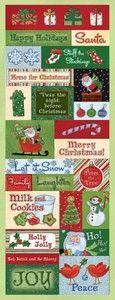 Holiday Cheer Embossed Sticker