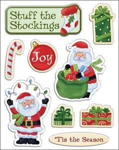 Holiday Cheer Gems Sticker