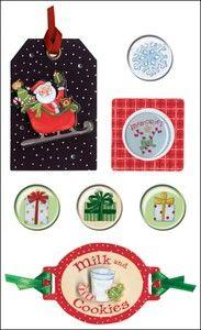 Holiday Cheer Mixed Media Sticker