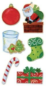 Holiday Chipboard Stickers
