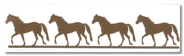 Horse Border Die-cut