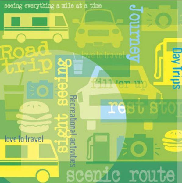 Road Trip 12x12 Paper