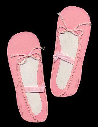 Ballet Slippers Die-Cut