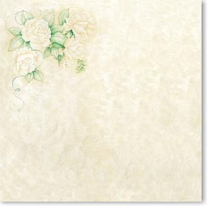 Ivory Roses 12x12 Paper
