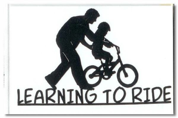 Learning to Ride Die-cut