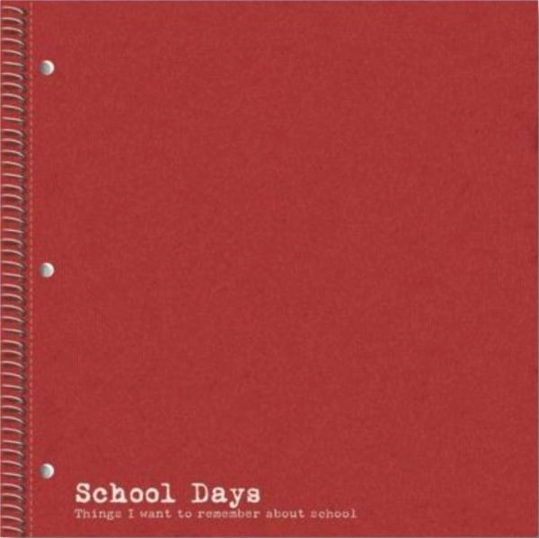 Red Notebook 12x12 Paper