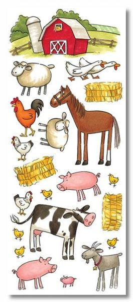 Barnyard Animals Sticker
