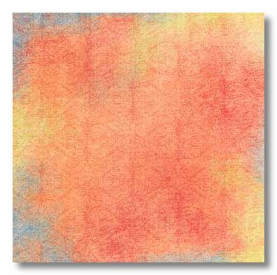 Orange Twist 12x12 Paper