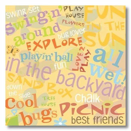 Outdoor Fun 12x12 Paper