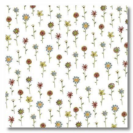 Pretty Petals 12x12 Paper