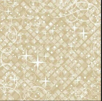 Beige Shimmer 12x12 Paper