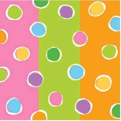 Birthday Dots 12x12 Paper