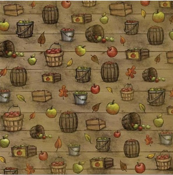 Bushels of Harvest 12x12 Paper