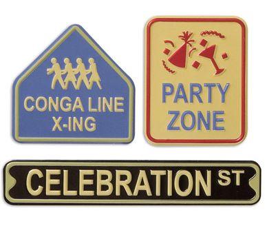 Celebration Metal Signs
