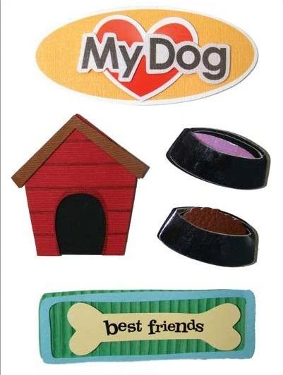 Dog Stacked Stickers