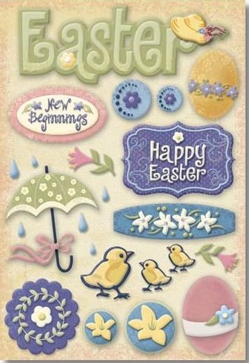 Easter Time Sticker
