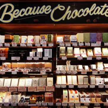 Because Chocolate: Bi-Rite Divisadero's craft chocolate selection in San Francisco
