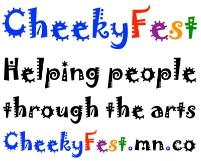 cheeky fest - helping people through the arts