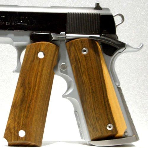 Gun Grips, 1911 Full Size, Wood, Lignum Vitae (1)