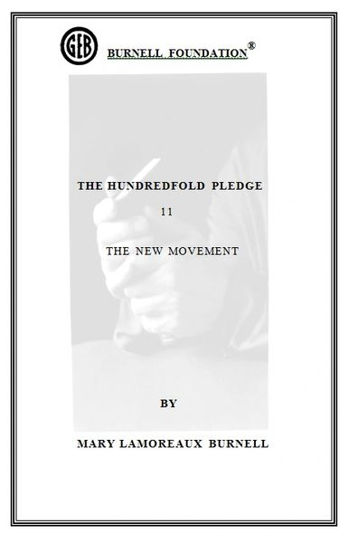 HUNDREDFOLD PLEDGE 11