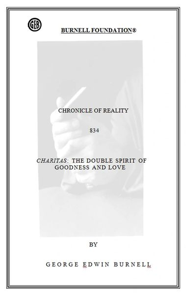 CHRONICLE OF REALITY 834