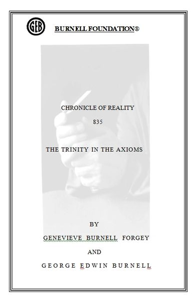 CHRONICLE OF REALITY 835