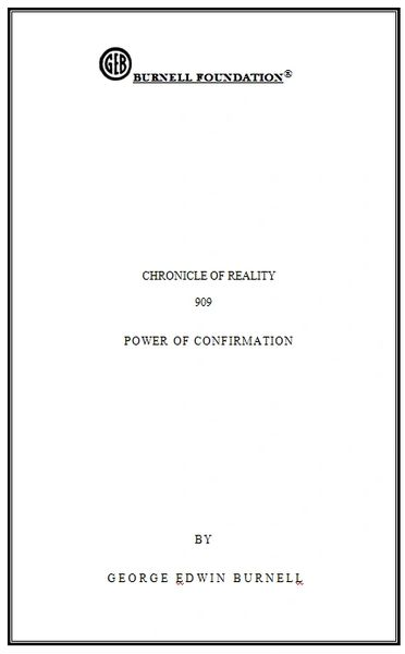 CHRONICLE OF REALITY 909