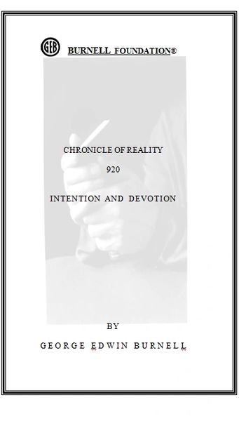 CHRONICLE OF REALITY 920