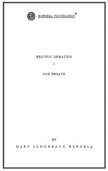 BEATIFIC SPIRATION 1