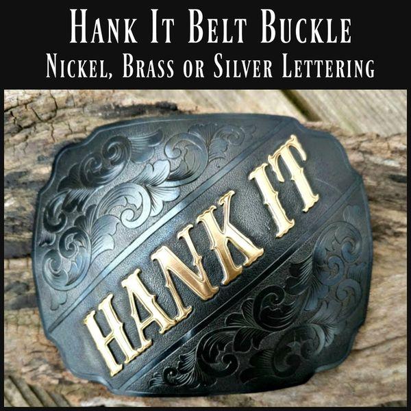 Hank It Belt Buckle