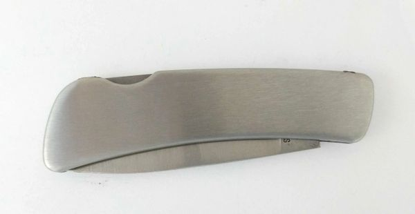 Gentlemen's Stainless Knife, engraved with name, initials, or brand