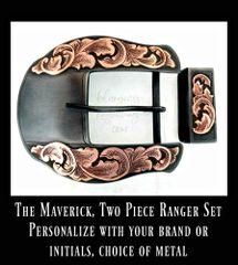 The Maverick w/ Overlaid Scrollwork